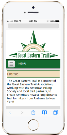 Great Eastern Trail Mobile Site