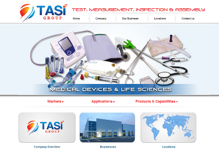 Tasi Group's Website